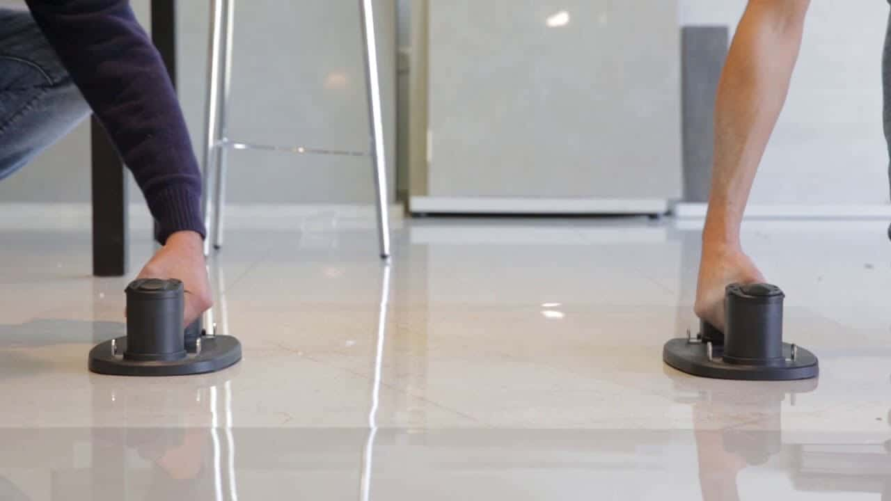 GRABO suction lifter for Flooring and Landscaping