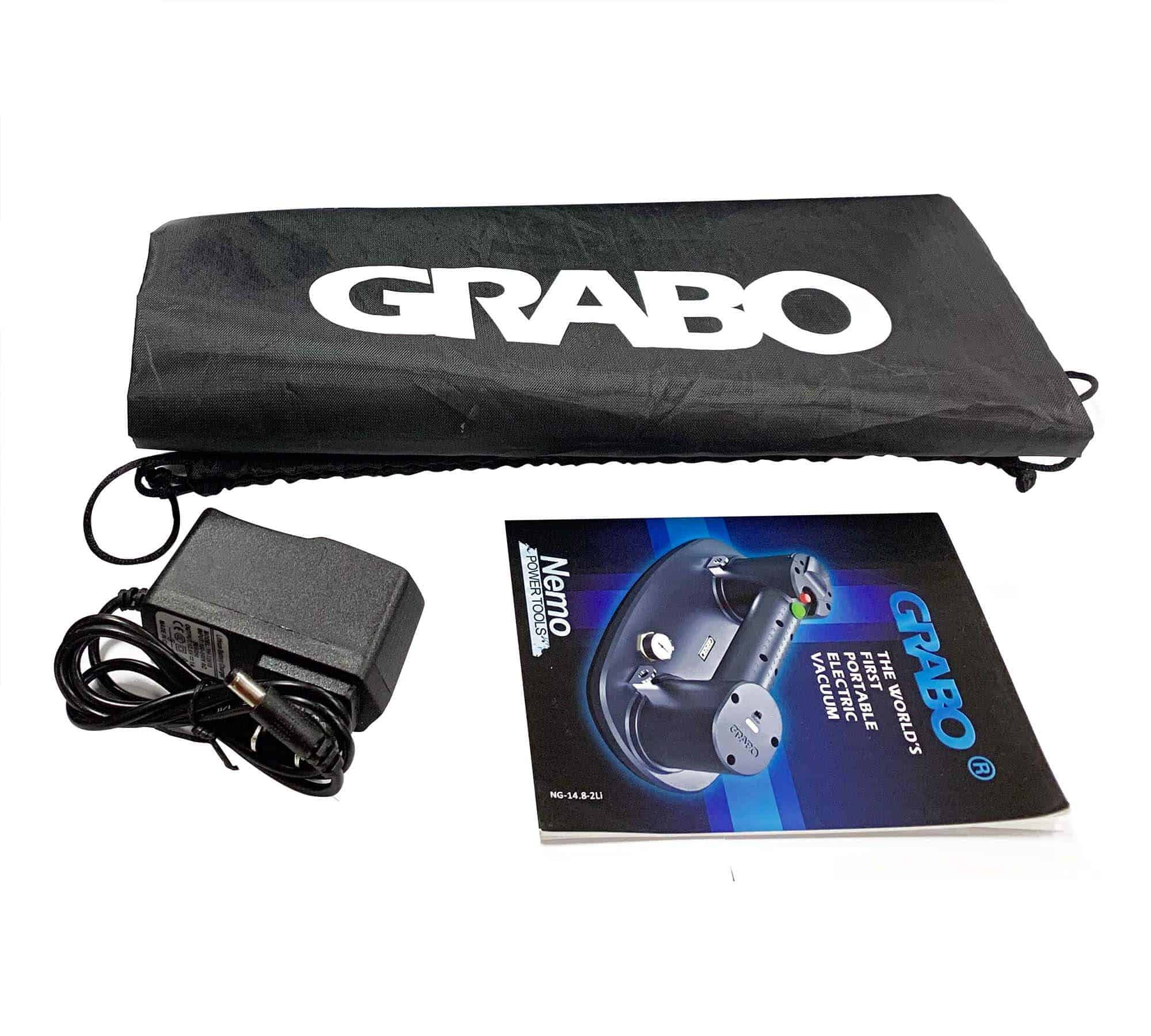 grabo h pack charger & book