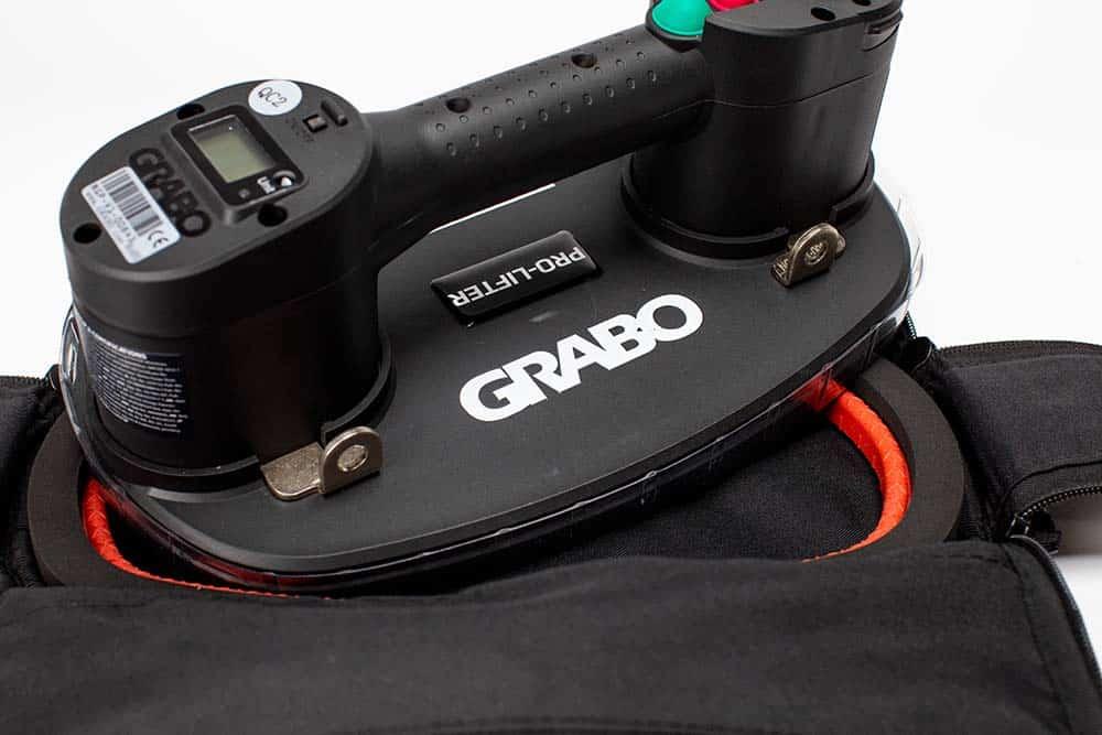 GRABO pro tool on top bag